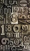 Dimex Typeset Vlies Fotobehang 150x250cm 2-banen