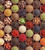 Dimex Spice Bowls Vlies Fotobehang 225x250cm 3-banen
