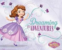 Pyramid Sofia the First Dreaming Poster 50x40cm