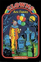 Pyramid Steven Rhodes Clowns are Funny Poster 61x91,5cm
