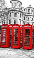 Dimex London Vlies Fotobehang 150x250cm 2-banen