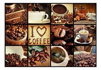 Artgeist Coffee Collage Vlies Fotobehang 400x280cm
