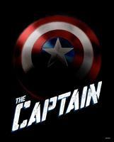 Komar Avengers The Captain Kunstdruk 40x50cm