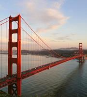 Dimex Golden Gate Vlies Fotobehang 225x250cm 3-banen