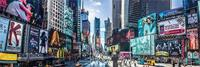 Pyramid New York Times Square Panoramic Poster 91,5x30,5cm