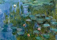 PGM Claude Monet - Seerosen Kunstdruk 29.7x21cm