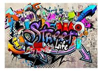 Artgeist Street Game Vlies Fotobehang 100x70cm