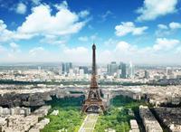 Papermoon Eiffeltoren Vlies Fotobehang 350x260cm