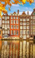 Dimex Houses in Amsterdam Vlies Fotobehang 150x250cm 2-banen