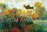PGM Claude Monet - The Artist's Garden Kunstdruk 100x70cm
