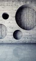 Dimex Geometric Background Vlies Fotobehang 150x250cm 2-banen