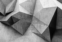 Wizard+Genius 3D Concrete Wall Vlies Fotobehang 384x260cm 8-banen