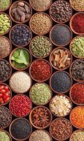 Dimex Spice Bowls Vlies Fotobehang 150x250cm 2-banen