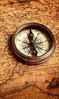 Dimex Compass Vlies Fotobehang 150x250cm 2-banen