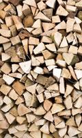 Dimex Timber Logs Vlies Fotobehang 150x250cm 2-banen