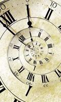 Dimex Spiral Clock Vlies Fotobehang 150x250cm 2-banen