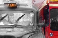 Wizard+Genius Taxi & Bus Fotobehang 175x115cm
