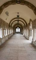 Dimex Ancient Corridor Vlies Fotobehang 150x250cm 2-banen
