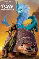Pyramid Raya And The Last Dragon Sunset Poster 61x91,5cm