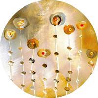 Wizard+Genius Golden Eye Vlies Fotobehang 140x140cm rond