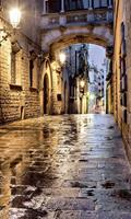 Dimex Ancient Street Vlies Fotobehang 150x250cm 2-banen