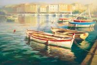 PGM Roberto Lombardi - Harbor Morning I Kunstdruk 91x61cm
