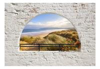Artgeist Hidden Beach Vlies Fotobehang 100x70cm