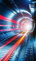 Dimex Tunnel Vlies Fotobehang 150x250cm 2-banen