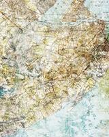 Komar Mix Map Vlies Fotobehang 200x250cm 2-banen