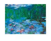 PGM Claude Monet - Nymphéas Kunstdruk 30x24cm