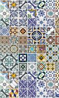 Dimex Portugal Tiles Vlies Fotobehang 150x250cm 2-banen