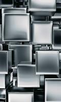 Dimex Metal Cubes Vlies Fotobehang 150x250cm 2-banen