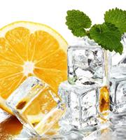 Dimex Lemon and Ice Vlies Fotobehang 225x250cm 3-banen