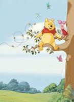 Komar Winnie Pooh Tree Fotobehang 184x254cm 4-delig