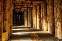 Papermoon Wieliczka Salt Mine Vlies Fotobehang 350x260cm 7-banen