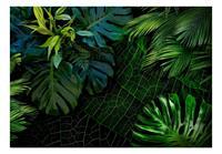 Artgeist Dark Jungle Vlies Fotobehang 100x70cm