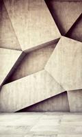 Dimex Concrete Background Vlies Fotobehang 150x250cm 2-banen