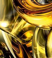 Dimex Golden wires Vlies Fotobehang 225x250cm 3-banen