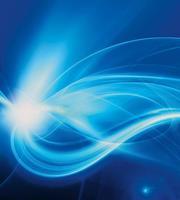 Dimex Blue Abstract Vlies Fotobehang 225x250cm 3-banen