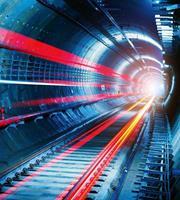 Dimex Tunnel Vlies Fotobehang 225x250cm 3-banen