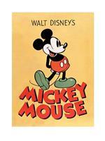 Pyramid Mickey Mouse Mickey Kunstdruk 60x80cm