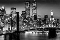 GBeye New York Manhattan Black Deco Panel 90x60cm