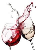 Wizard+Genius Wine Glasses Vlies Fotobehang 192x260cm 4-banen