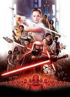 Komar Star Wars EP9 Movie Poster Rey Fotobehang 184x254cm 4-delig