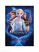 Pyramid Frozen 2 Magic Kunstdruk 30x40cm