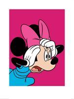 Pyramid Minnie Mouse Shocked Kunstdruk 60x80cm