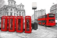 Dimex London Vlies Fotobehang 375x250cm 5-banen