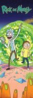 Pyramid Rick and Morty Portal Poster 53x158cm