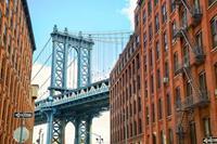 Dimex Manhattan Bridge Vlies Fotobehang 375x250cm 5-banen