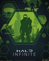 Pyramid Halo Infinite Master Chief Hex Poster 40x50cm